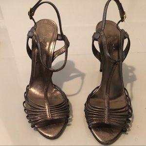 Metallic Max Mara Stiletto Sandals 💕